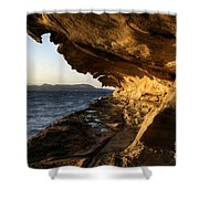 The Malaspina Galleries Shower Curtain