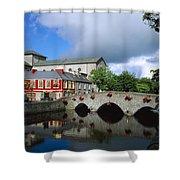 The Mall, Westport, Co Mayo, Ireland Shower Curtain