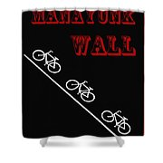 The Manayunk Wall Shower Curtain