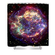 The Many Sides Of The Supernova Remnant Shower Curtain