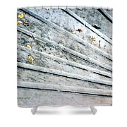 The Marble Steps Of Life Shower Curtain