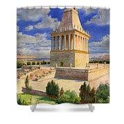 The Mausoleum At Halicarnassus Shower Curtain