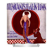 The Meanest Gal In Town Shower Curtain