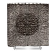The Meeting Shower Curtain