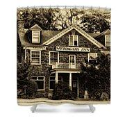 The Mermaid Inn - Chestnut Hill Shower Curtain