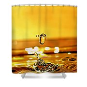 The Midas Touch Shower Curtain