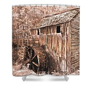 The Mill At Cade's Cove Shower Curtain