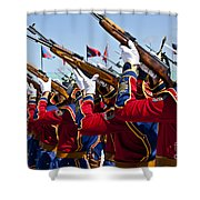 The Mongolian State Honor Guard Shower Curtain