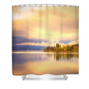 The Morning Quiet Shower Curtain