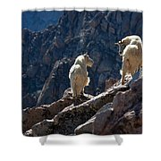 The Mountaineers Shower Curtain