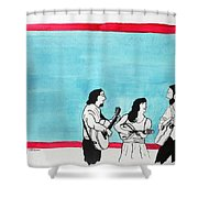 The Music Makers Shower Curtain