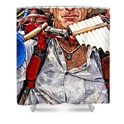 The Music Man Shower Curtain