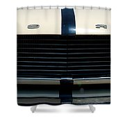 The Mustang Grill Shower Curtain