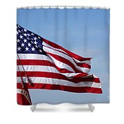 The National Colors And Official Colors Shower Curtain