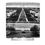 The National Mall Shower Curtain