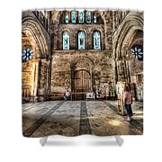 The Nave At St Davids Cathedral 5 Shower Curtain