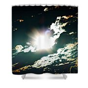 The Night Of The Eclipse Shower Curtain