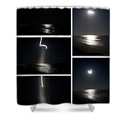 The Night The Moon Fell Shower Curtain