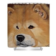 The Noble Chow Shower Curtain
