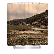 The Nueces River II Shower Curtain