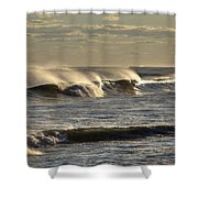 The Ocean Winds Shower Curtain