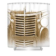 The Old Chevrolet Shower Curtain