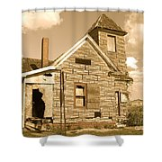 The Old Church At Shellpile  Shower Curtain