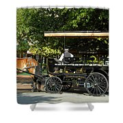 The Old City Market Shower Curtain