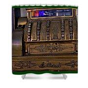 The Old Copper Cash Machine Shower Curtain