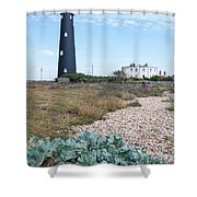 The Old Lighthouse Shower Curtain