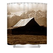 The Old Moulton Barn Shower Curtain