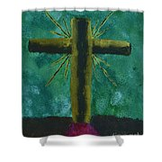 The Old Rugged Cross Shower Curtain