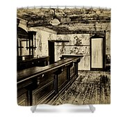 The Old Saloon Shower Curtain