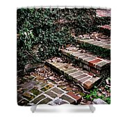 The Old Steps Shower Curtain