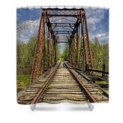 The Old Trestle Shower Curtain