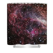 The Omega Nebula Shower Curtain