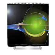 The Orb Shower Curtain