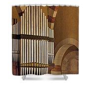 the Organ Augusta Victoria Jerusalem Shower Curtain