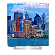 The Other Side Of The City Shower Curtain