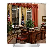 The Oval Office Shower Curtain