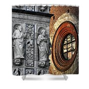 The Oval Window Shower Curtain