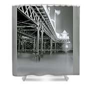 The Palace Pier Shower Curtain