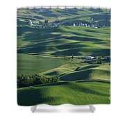 The Palouse 1 Shower Curtain
