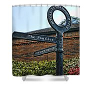 The Pantiles Shower Curtain