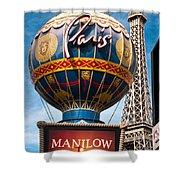 The Paris Shower Curtain