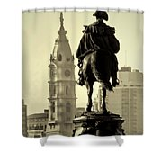 The Parkway End To End Shower Curtain