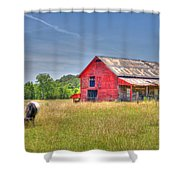 The Pasture Shower Curtain