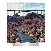 The Pat Tillman Memorial Bridge Shower Curtain