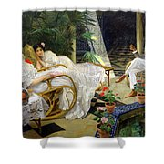 The Patio Shower Curtain