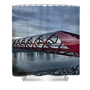 The Peace Bridge Shower Curtain